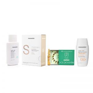 oferta cosmética facial protección